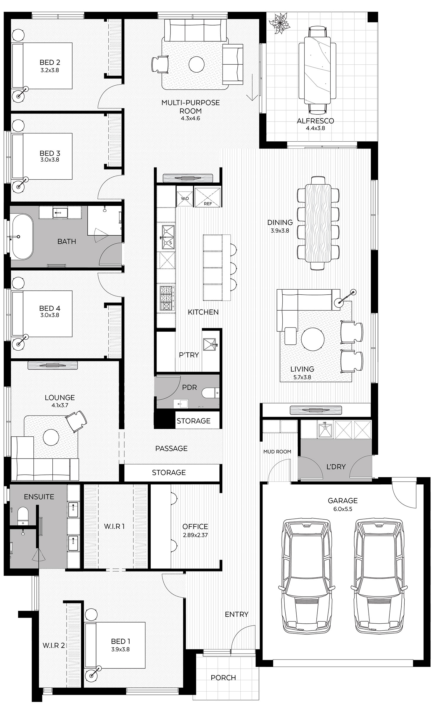 Ayla 33 floorplan large
