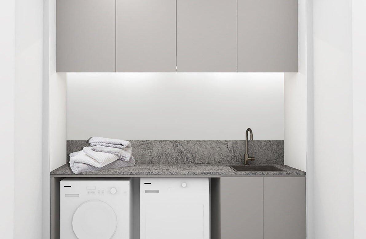 4 Finn 23 Laundry Urban Medium Scheme Turbine Grey Stone (Splashback Update)