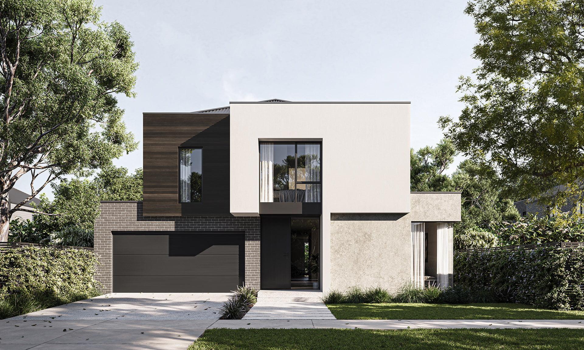 Arli Homes Steel facade